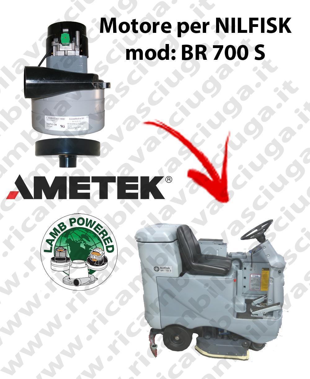 BR 700 S Saugmotor LAMB AMETEK für scheuersaugmaschinen NILFISK
