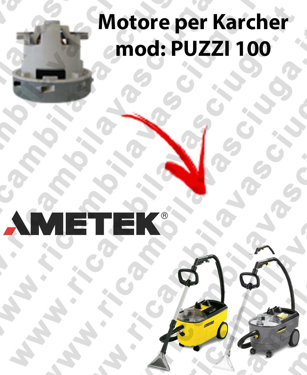 PUZZI 100 Saugmotor AMETEK für Staubsauger KARCHER