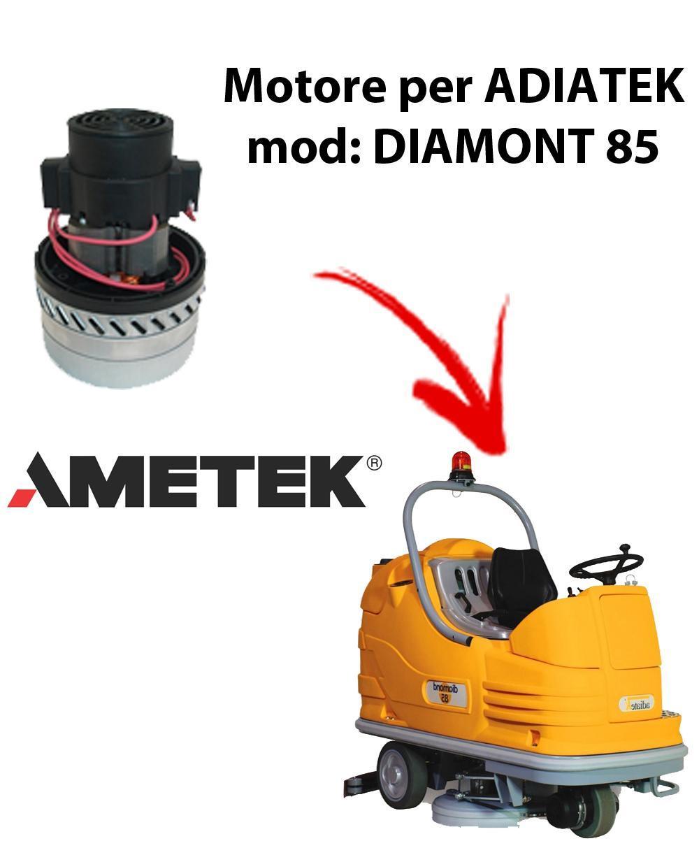 Diamond 85 MOTEUR AMETEK ITALIA aspiration autolaveuses pour Adiatek