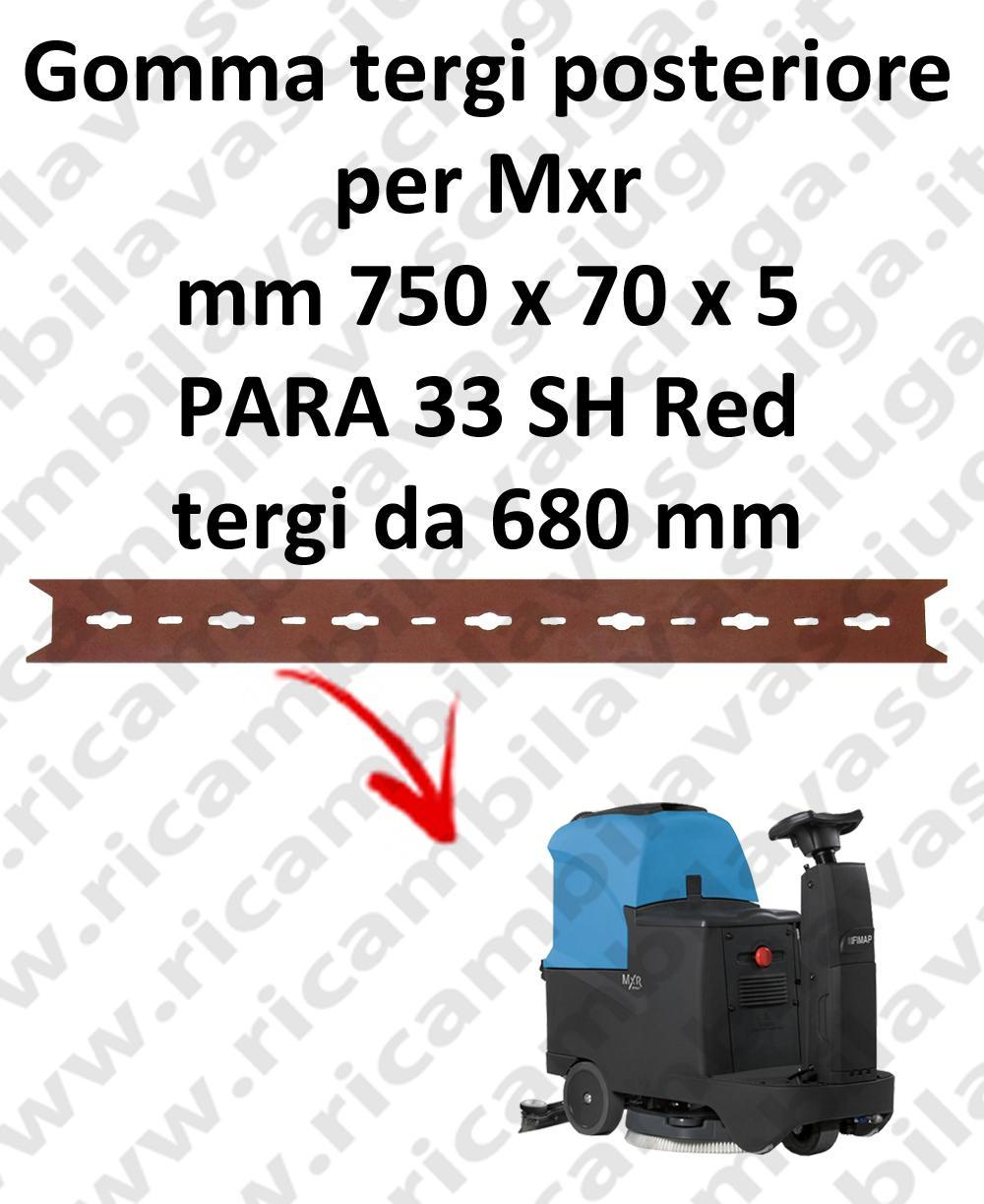 MXR Hinten Sauglippen für scheuersaugmaschinen FIMAP