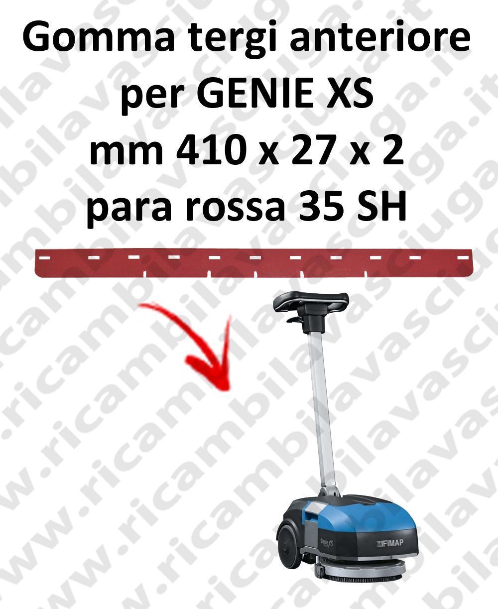 GENIE XS Vorder sauglippen für scheuersaugmaschinen FIMAP