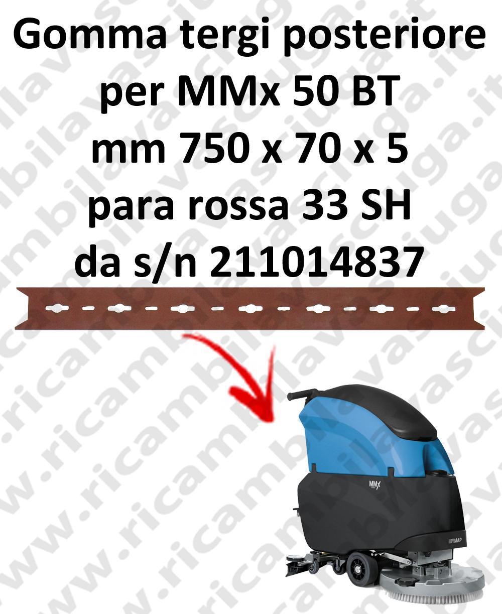 MMx 50 BT Hinten sauglippen für scheuersaugmaschinen FIMAP