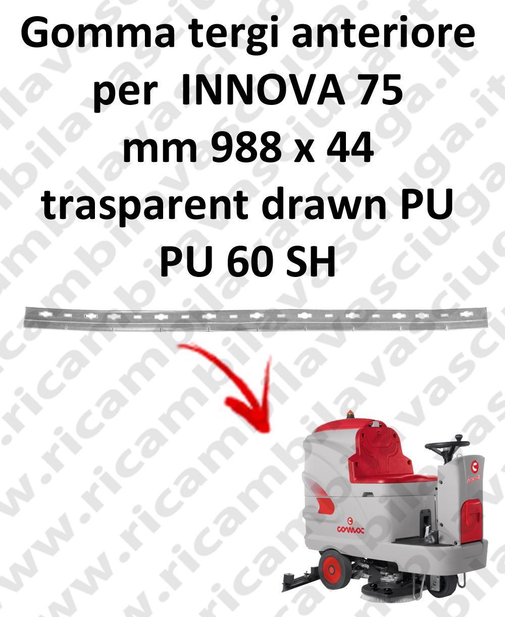 INNOVA 75 Vorder Sauglippen für scheuersaugmaschinen COMAC