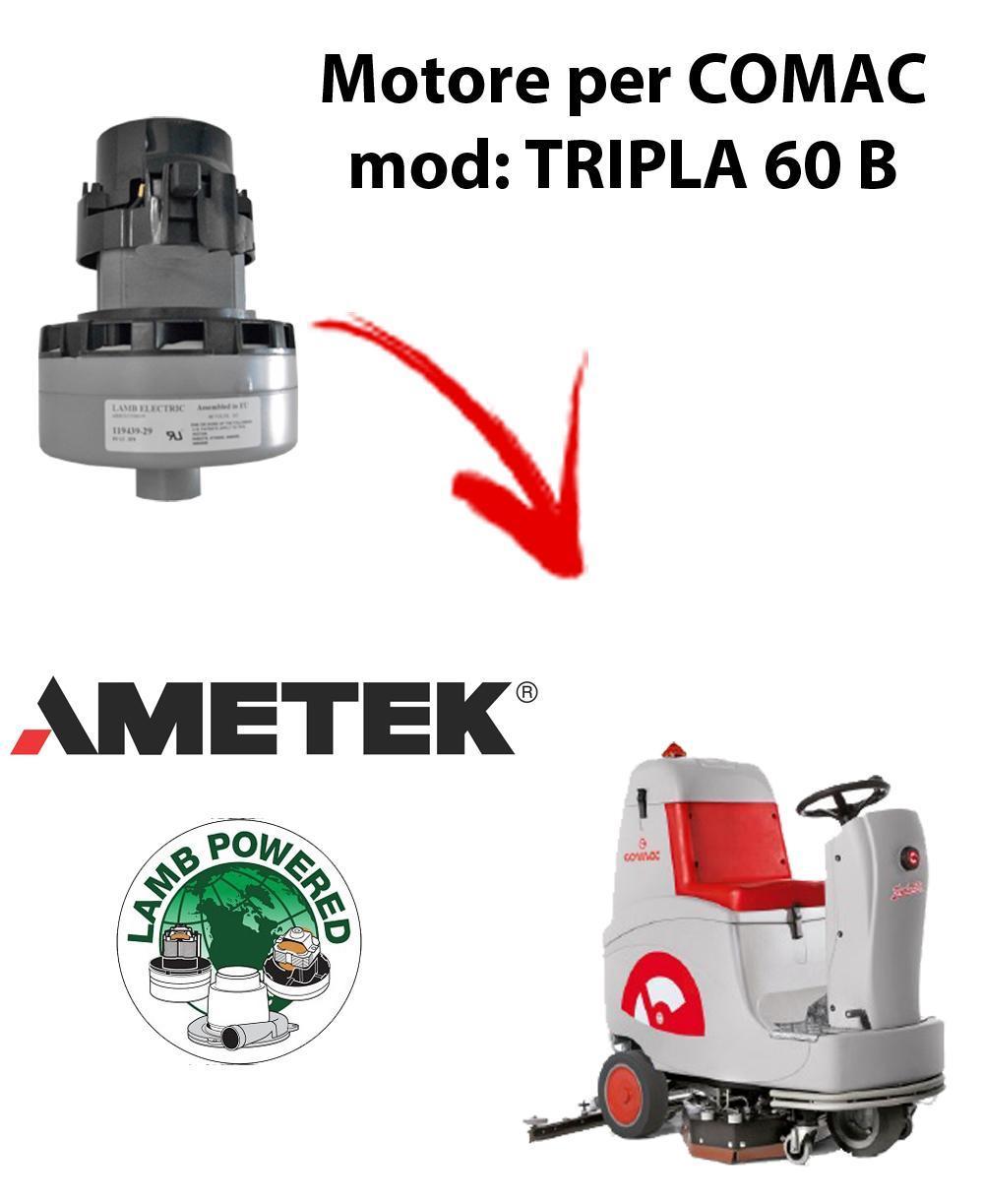 TRIPLA 60B MOTEUR ASPIRATION AMETEK pour autolaveuses Comac