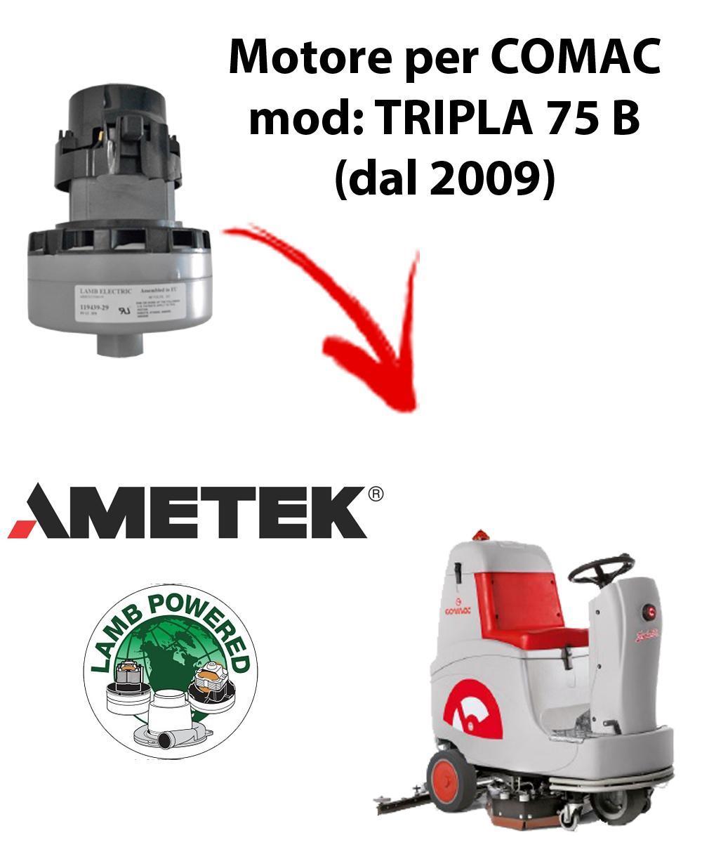 TRIPLA 75 B (dal 2009) MOTEUR ASPIRATION AMETEK pour autolaveuses Comac