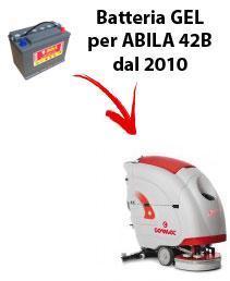 BATTERIE pour ABILA 42B autolaveuses COMAC DAL 2010