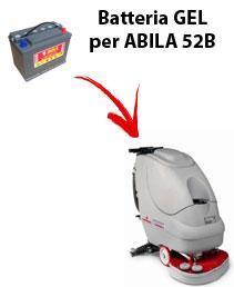 BATTERIE pour ABILA 52B autolaveuses COMAC