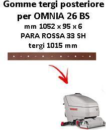 OMNIA 26 BS  BAVETTE ARRIERE Comac