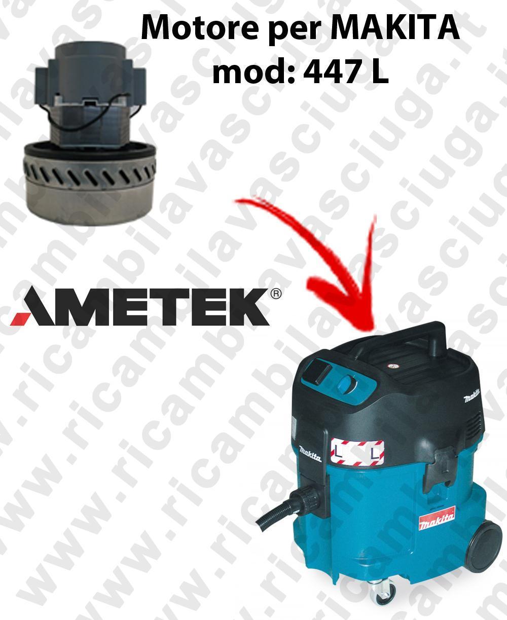 447 L Saugmotor AMETEK für Staubsauger MAKITA