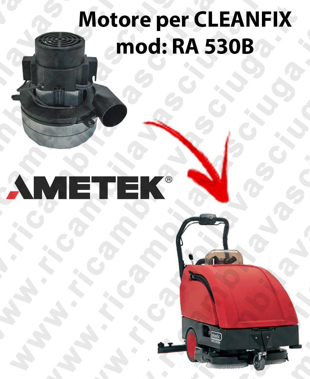 RA 530B Saugmotor AMETEK ITALIA für scheuersaugmaschinen CLEANFIX