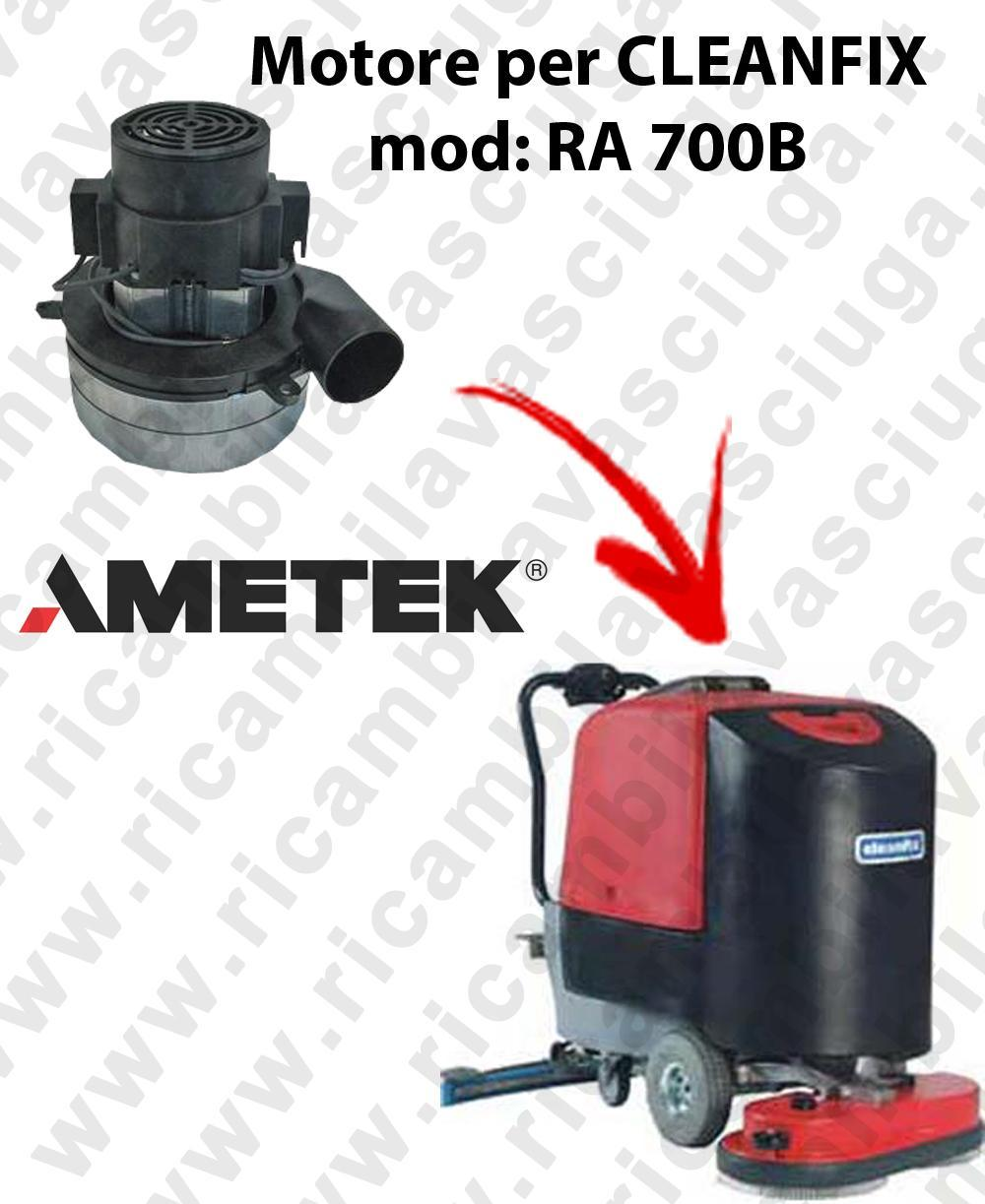 RA 700B Saugmotor AMETEK ITALIA für scheuersaugmaschinen CLEANFIX