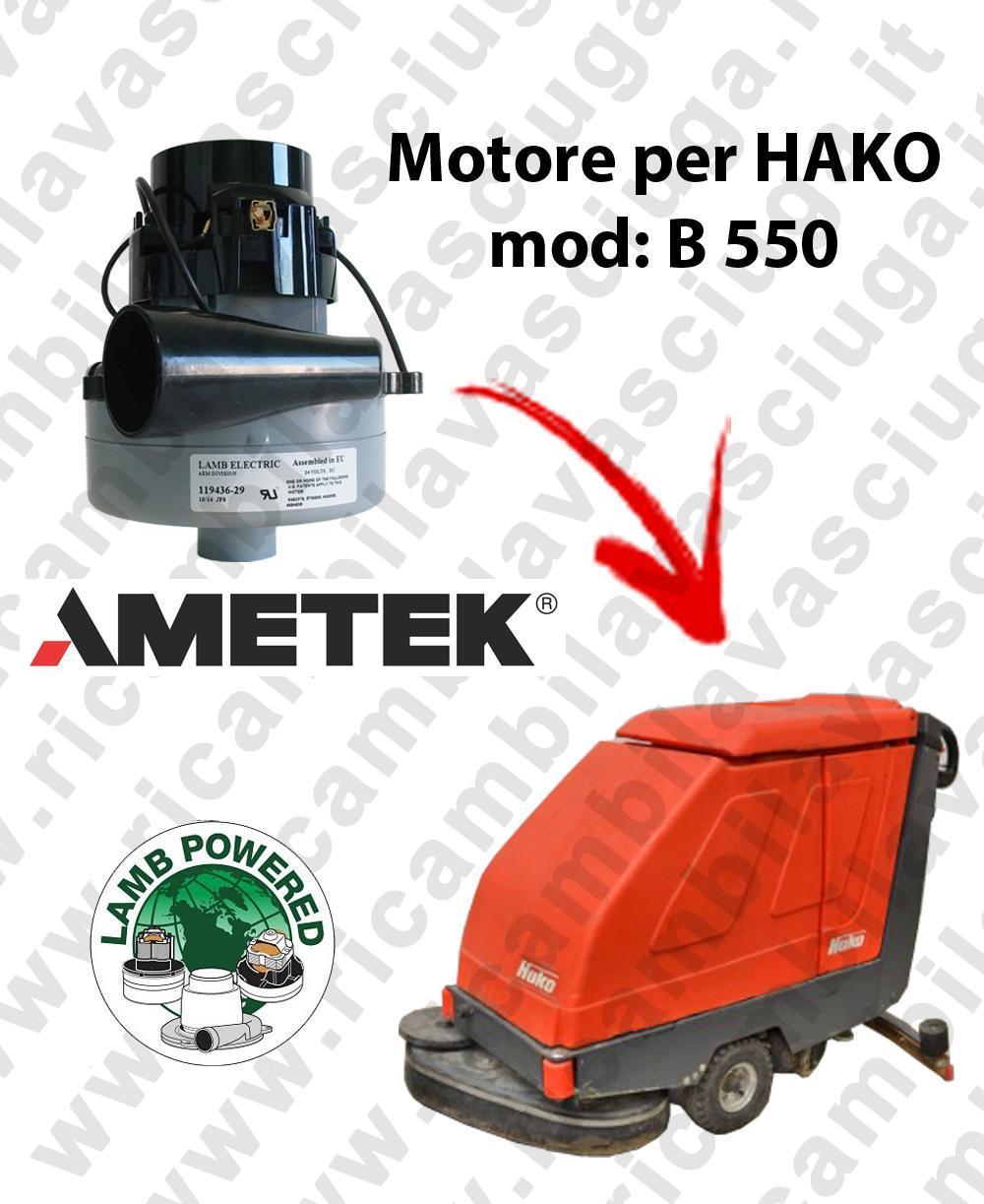 B 550 Saugmotor LAMB AMETEK für scheuersaugmaschinen HAKO