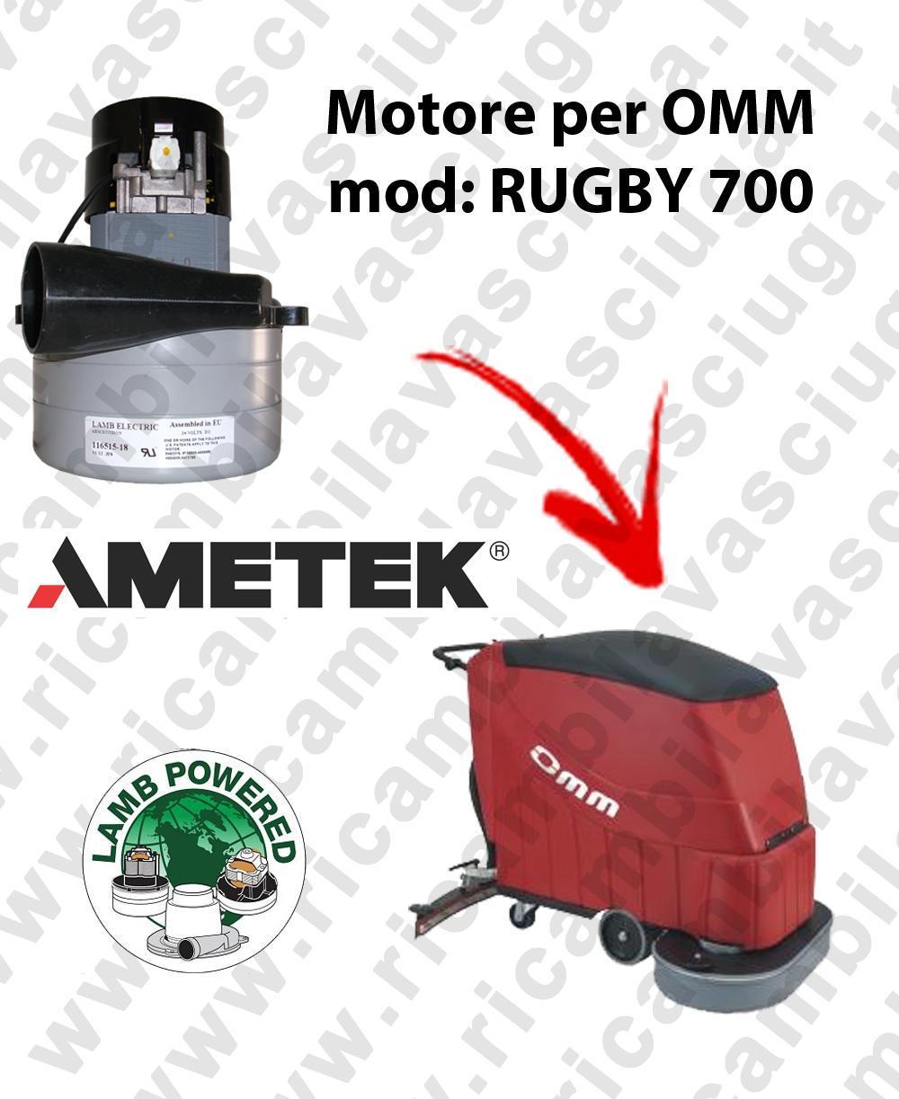 RUGBY 700 Saugmotor LAMB AMETEK für scheuersaugmaschinen OMM