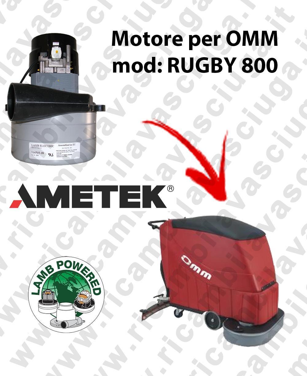 RUGBY 800 Saugmotor LAMB AMETEK für scheuersaugmaschinen OMM
