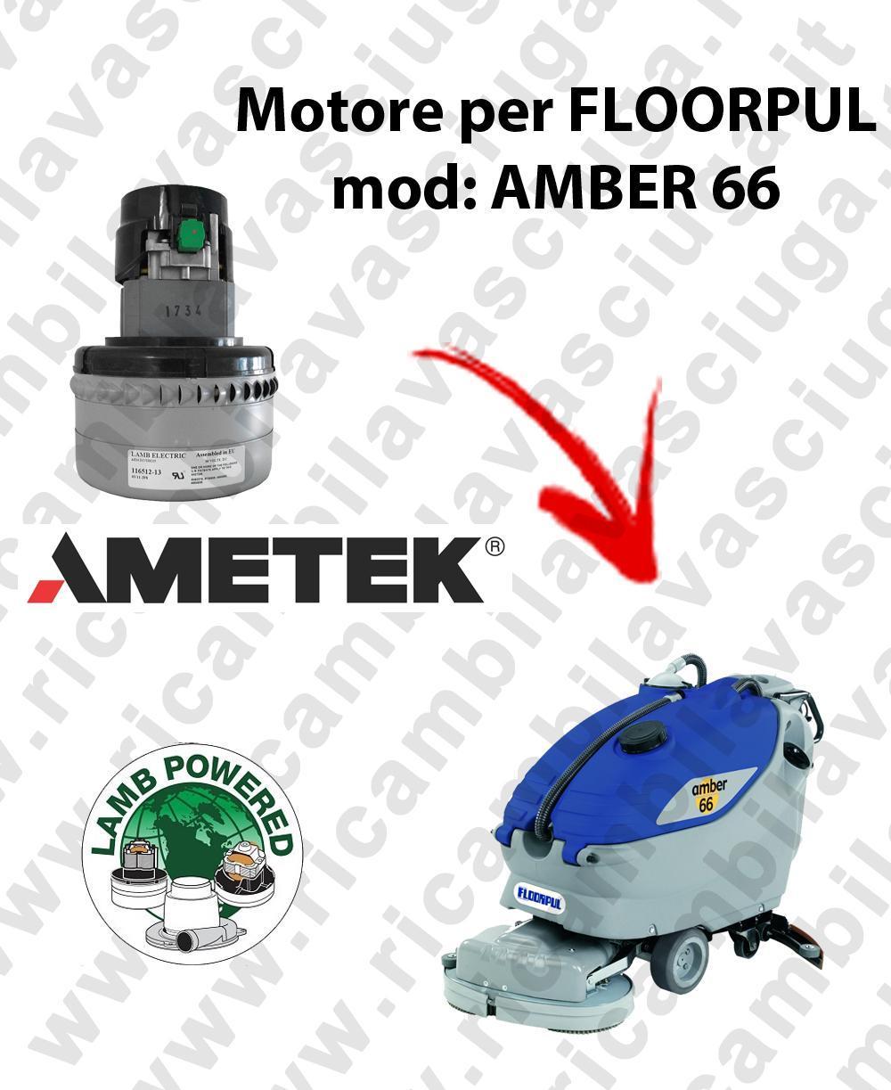 AMBER 66 Saugmotor LAMB AMETEK für scheuersaugmaschinen FLOORPUL