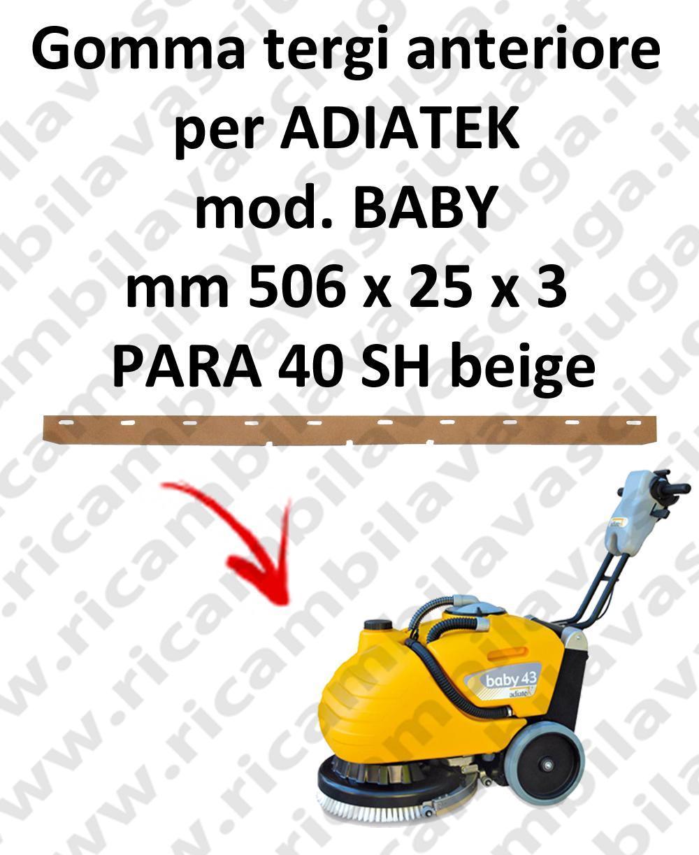 BABY BAVETTE AVANT pour autolaveuses ADIATEK