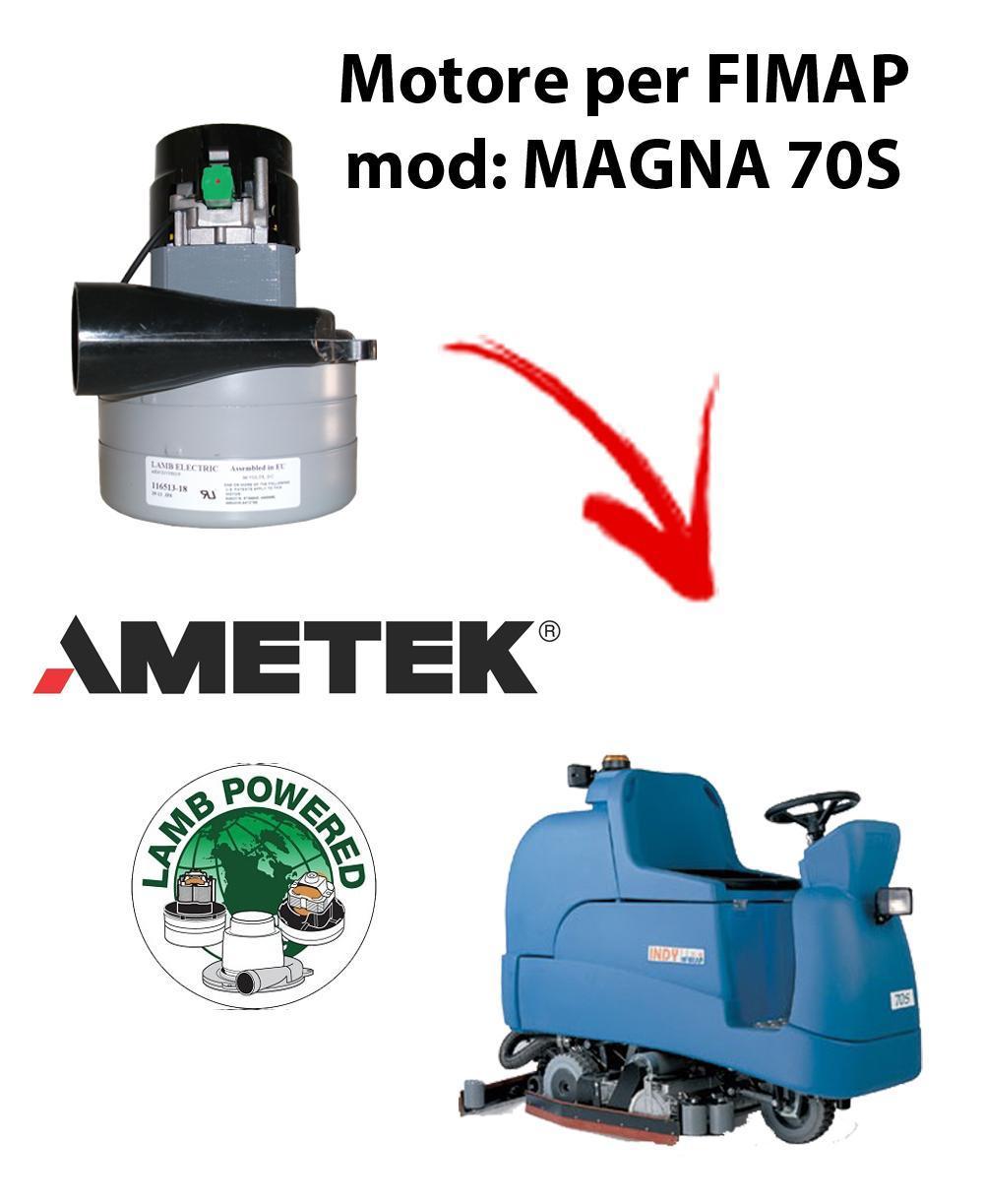 MAGNA 70S MOTEUR ASPIRATION AMETEK pour autolaveuses Fimap
