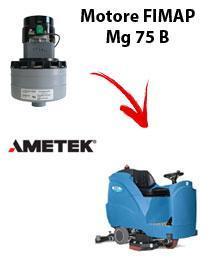 Mg 75 B MOTEUR ASPIRATION AMETEK autolaveuses Fimap