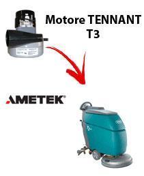 T3 MOTEUR ASPIRATION AMETEK autolaveuses TENNANT