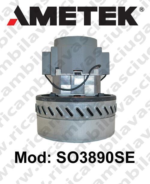 MOTEUR ASPIRATION SO3890SE AMETEK pour autolaveuses et aspirateur