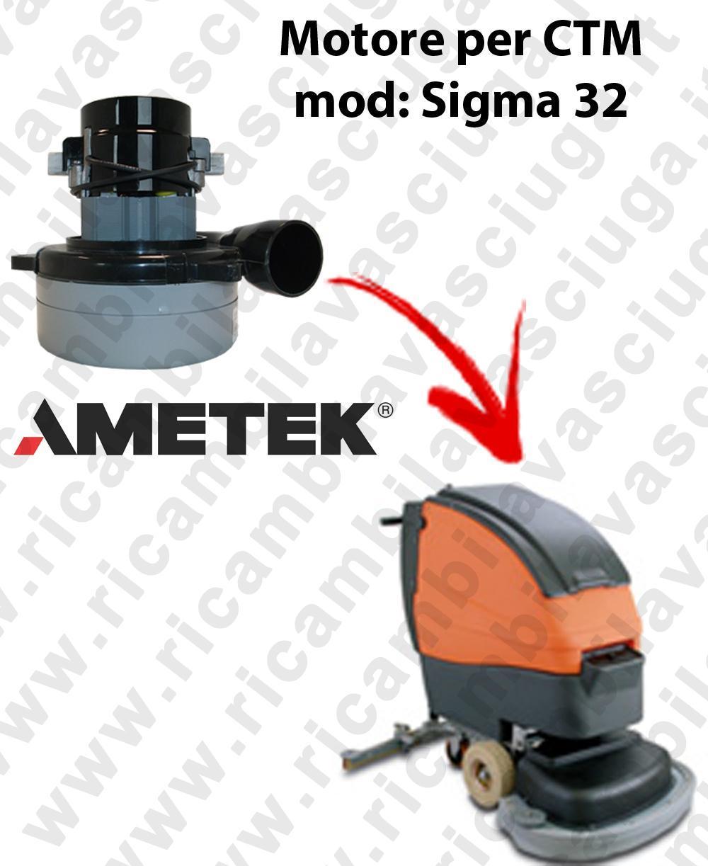 SIGMA 32 Saugmotor LAMB AMETEK für scheuersaugmaschinen CTM