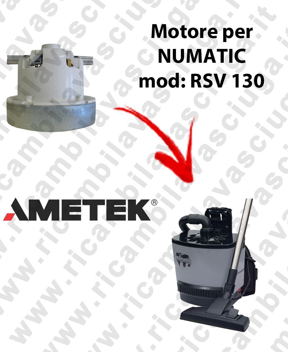 RSV 130 Saugmotor AMETEK für Staubsauger NUMATIC