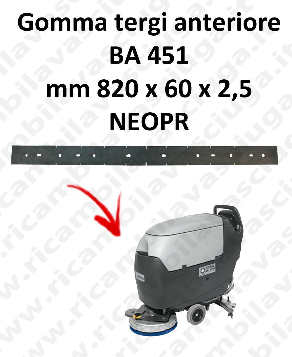 BA 451 Vorne sauglippen für scheuersaugmaschinen NILFISK