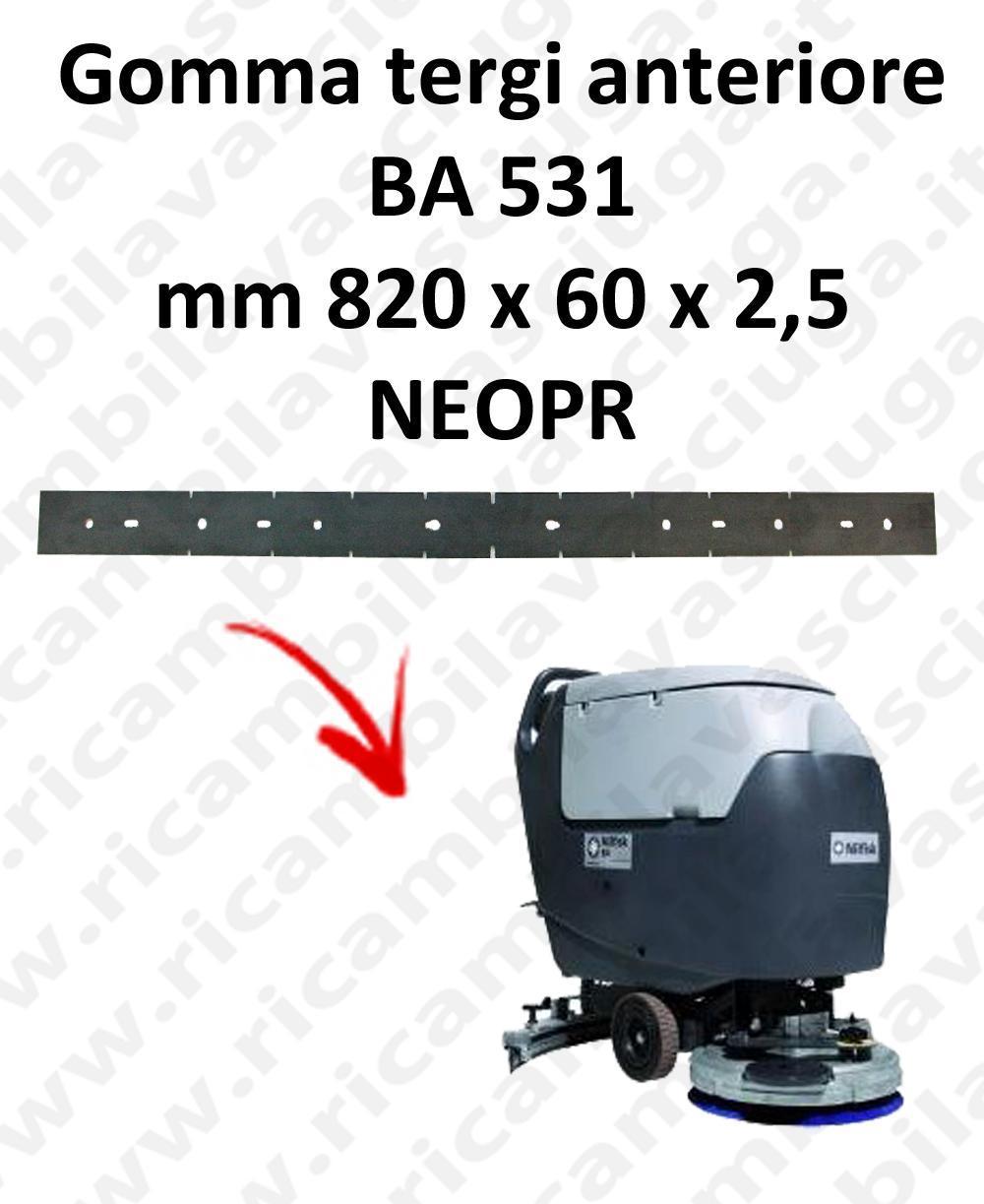 BA 531 Vorne sauglippen für scheuersaugmaschinen NILFISK