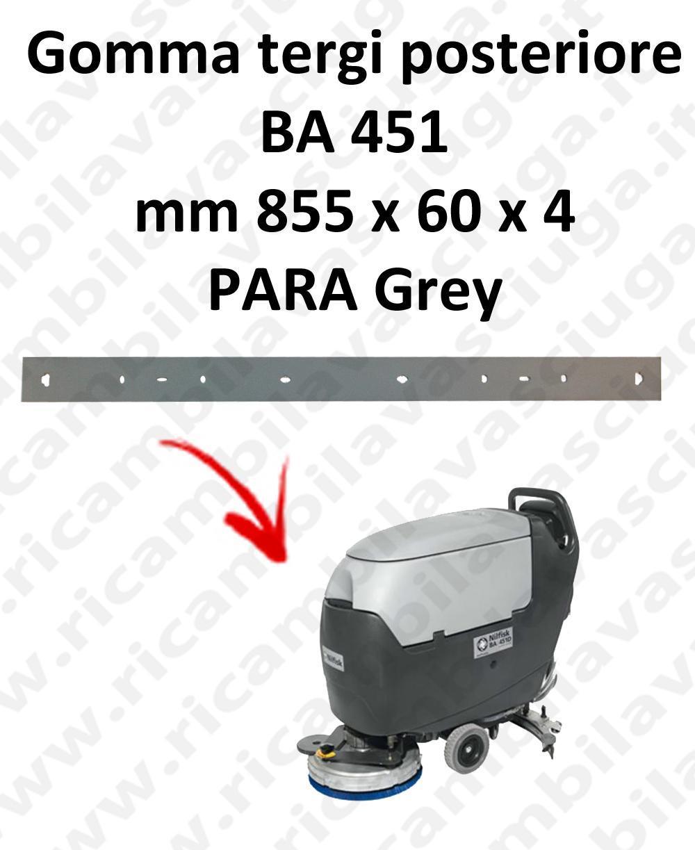 BA 451 Hinten sauglippen für scheuersaugmaschinen NILFISK