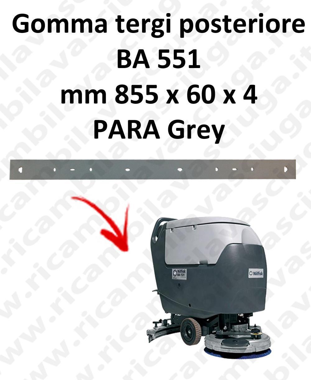 BA 551 Hinten sauglippen für scheuersaugmaschinen NILFISK