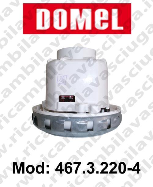 MOTEUR ASPIRATION DOMEL 467.3.220-4 pour aspirateur et autolaveuses