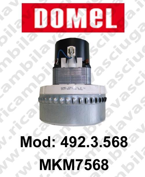 MOTEUR ASPIRATION DOMEL 492.3.568 MKM7568 pour aspirateur et autolaveuses