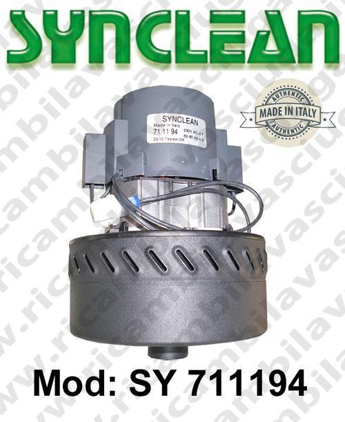 MOTEUR ASPIRATION SY 711194 SYNCLEAN pour autolaveuses et aspirateur