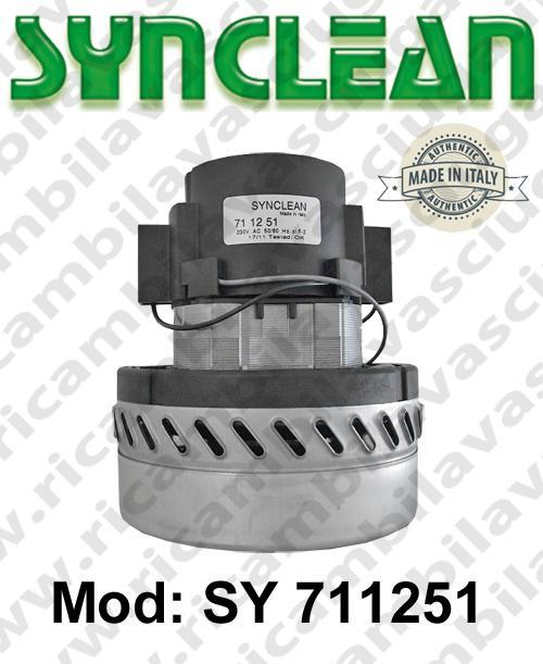 MOTEUR ASPIRATION SY 711251 SYNCLEAN pour autolaveuses et aspirateur