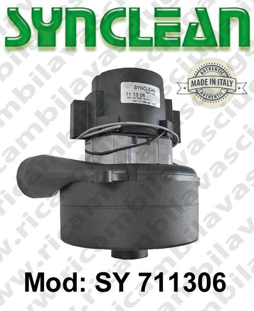 MOTEUR ASPIRATION SY 711306 SYNCLEAN pour autolaveuses et aspirateur