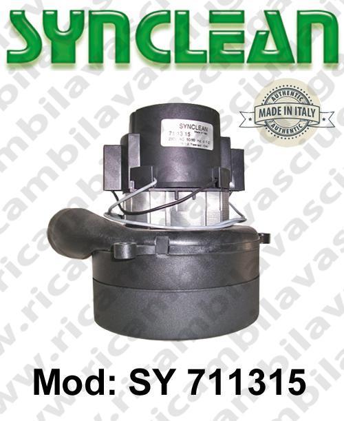 MOTEUR ASPIRATION SY 711315 SYNCLEAN pour autolaveuses et aspirateur