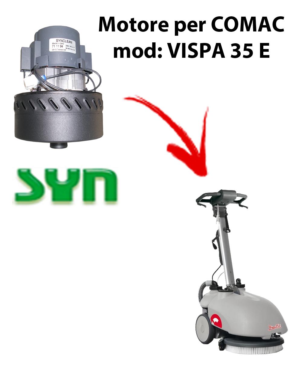 VISPA 35 E MOTEUR ASPIRATION SYN pour autolaveuses Comac