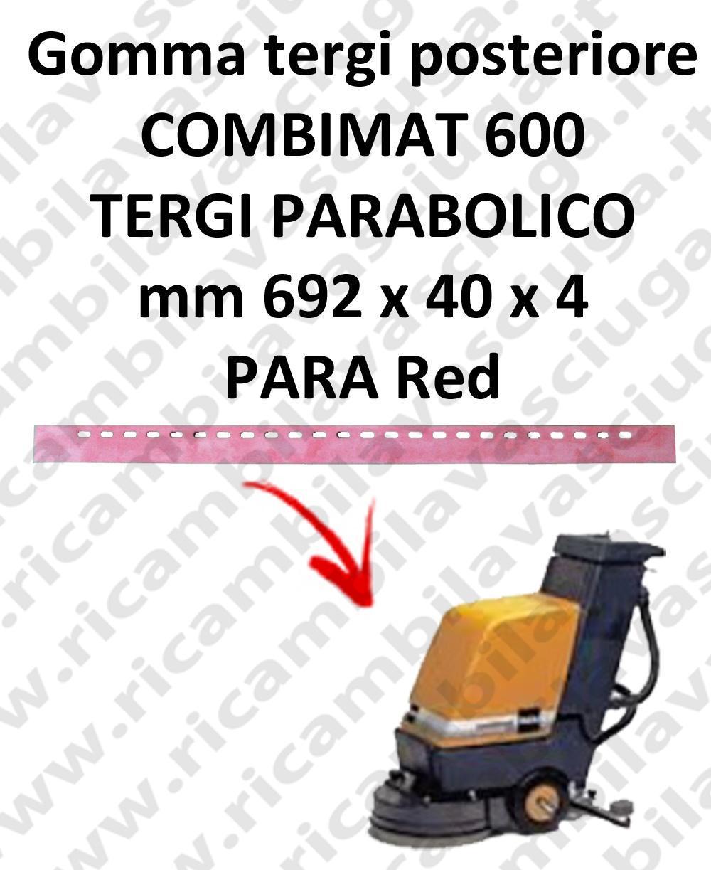 COMBIMAT 600 TERGI parabolisch Hinten sauglippen für scheuersaugmaschinen TASKI