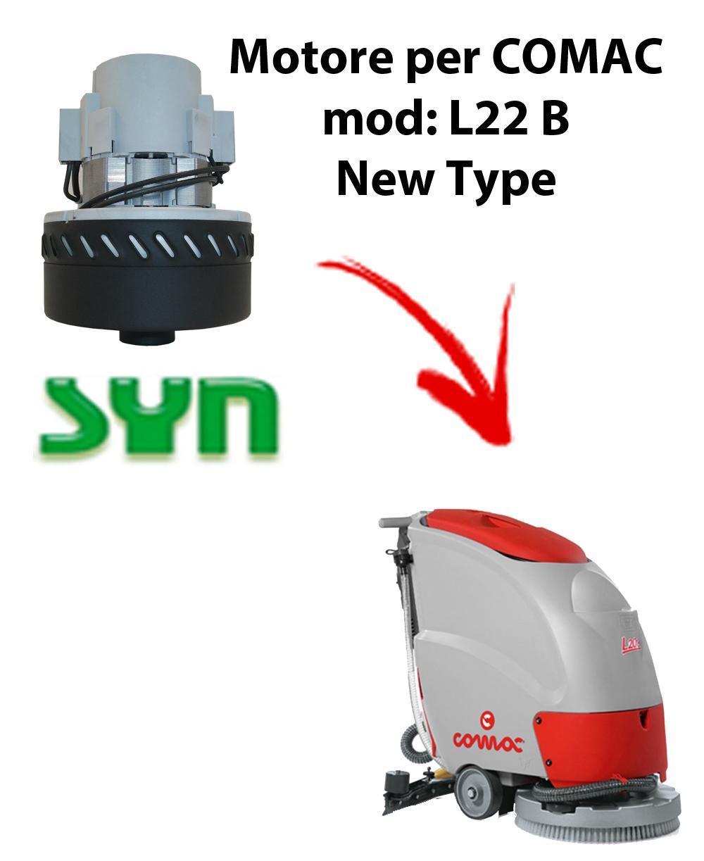 L22 B New Type MOTEUR ASPIRATION SYN pour autolaveuses Comac