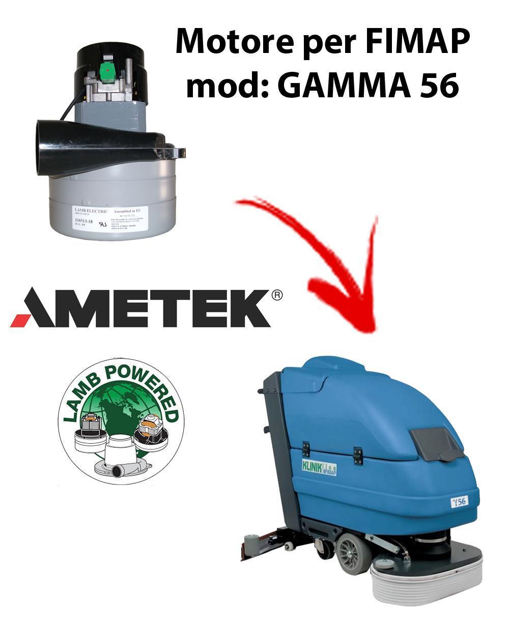 GAMMA 56 MOTEUR ASPIRATION AMETEK pour autolaveuses FIMAP