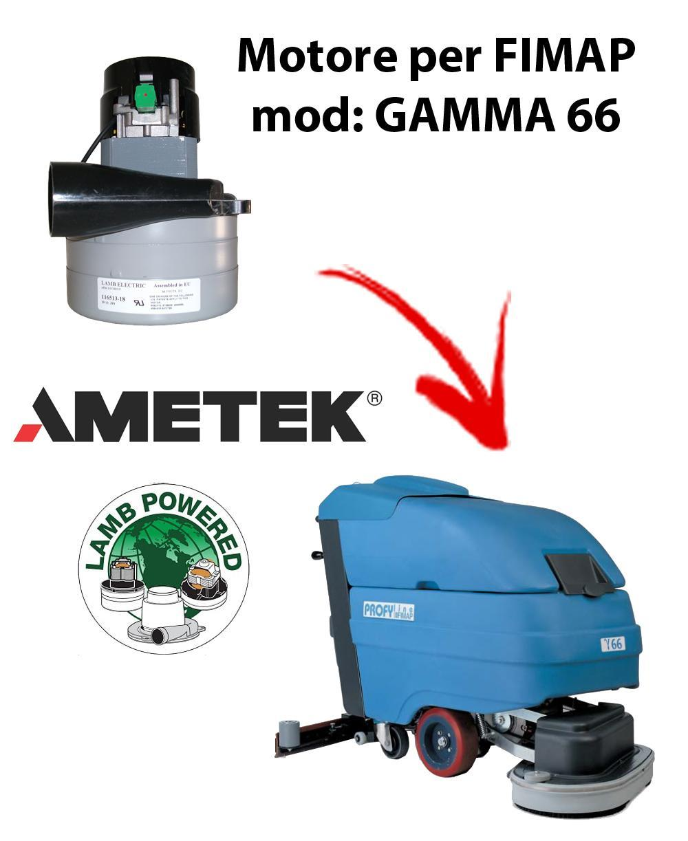 GAMMA 66 MOTEUR ASPIRATION AMETEK pour autolaveuses FIMAP