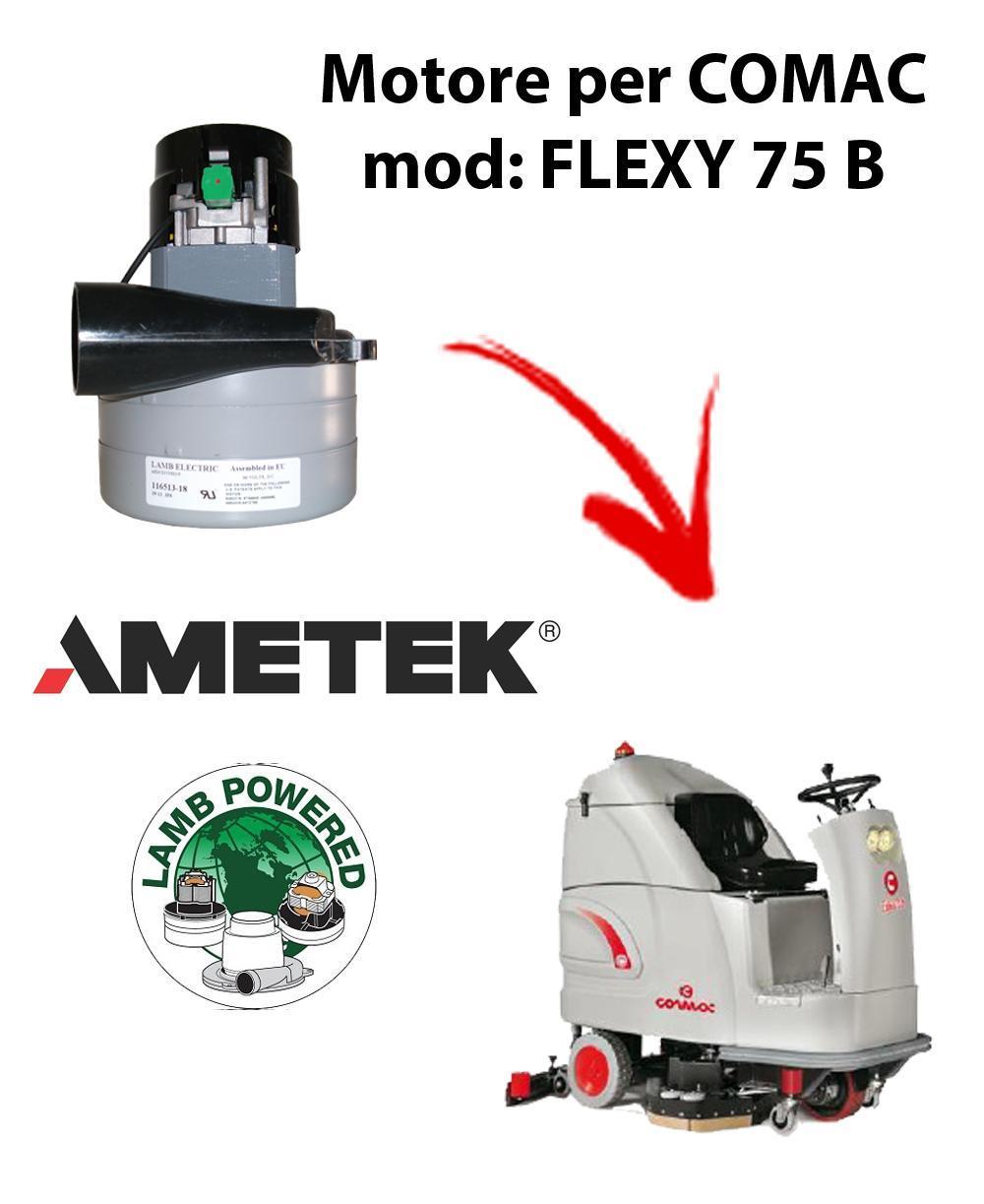 FLEXY 75 B MOTEUR ASPIRATION AMETEK pour autolaveuses Comac