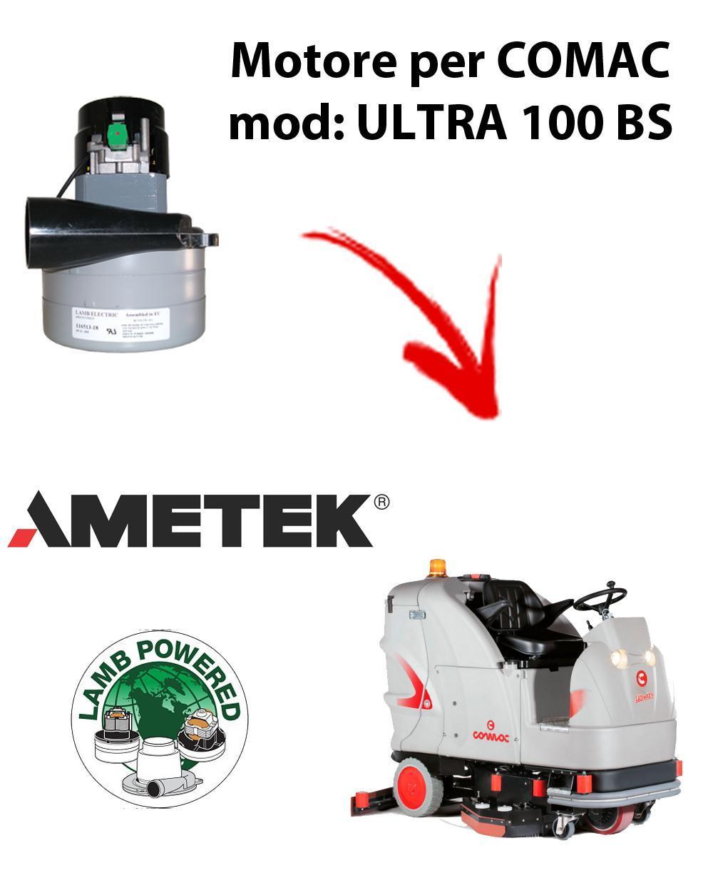 ULTRA 100 BS MOTEUR ASPIRATION AMETEK pour autolaveuses Comac