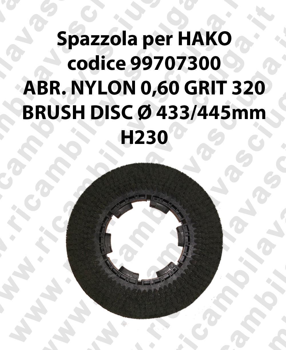 Bürsten code 99707300 für scheuersaugmaschinen HAKO