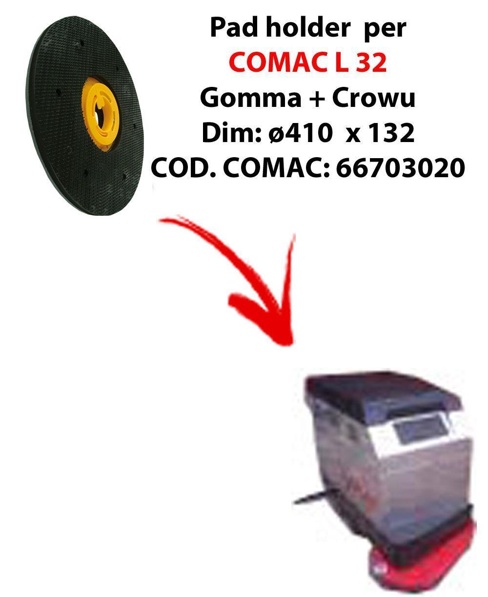 Plateau ( pad holder) pour autolaveuses COMAC L 32.