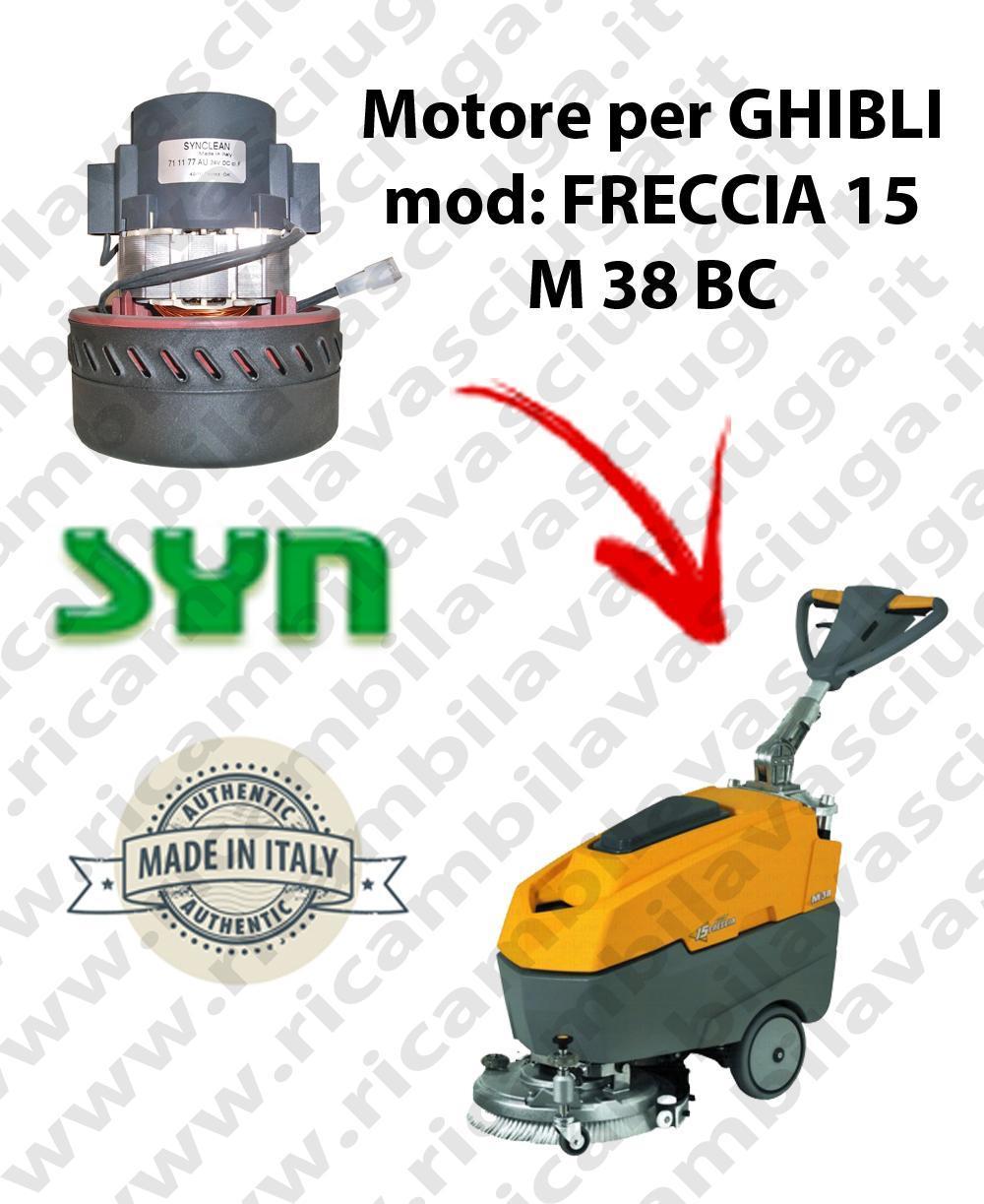 FRECCIA 15 M 38 BC MOTEUR ASPIRATION SYNCLEAN pour autolaveuses GHIBLI