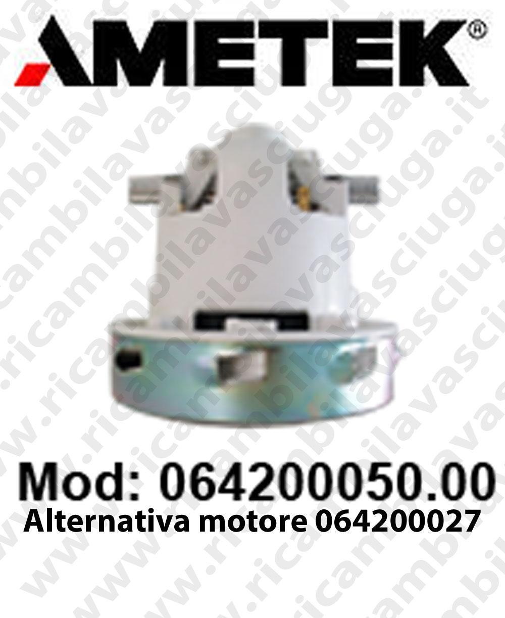 MOTEUR ASPIRATION 064200050.00 AMETEK pour autolaveuses et aspirateur ottima alternativa al MOTEUR 064200027