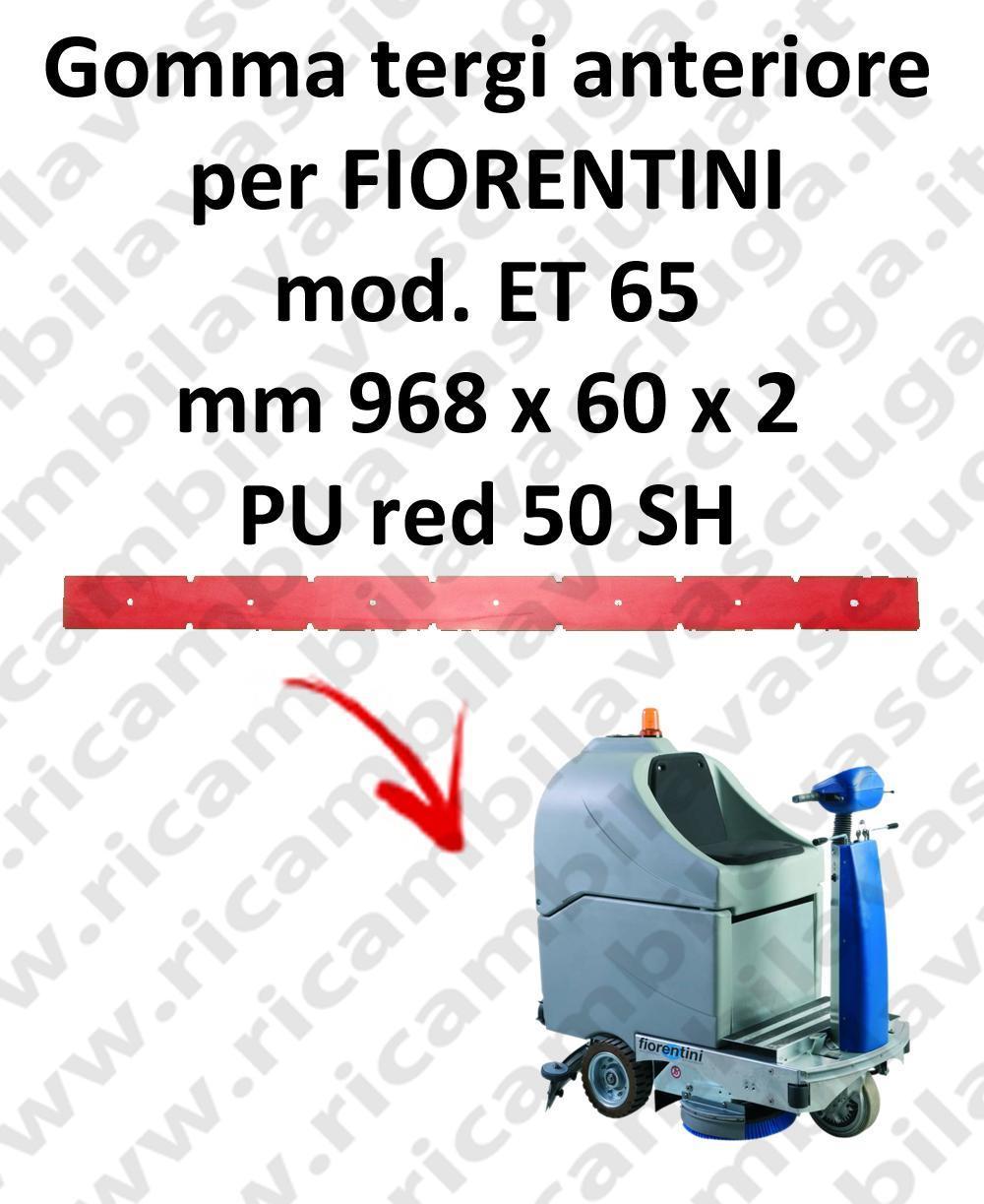 ET 65 Vorne sauglippen für scheuersaugmaschinen FIORENTINI