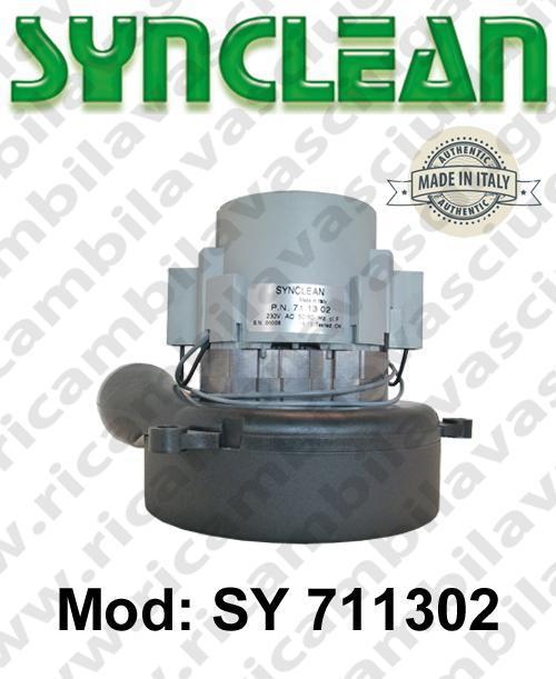 MOTEUR ASPIRATION SY 711302 SYNCLEAN pour autolaveuses et aspirateur