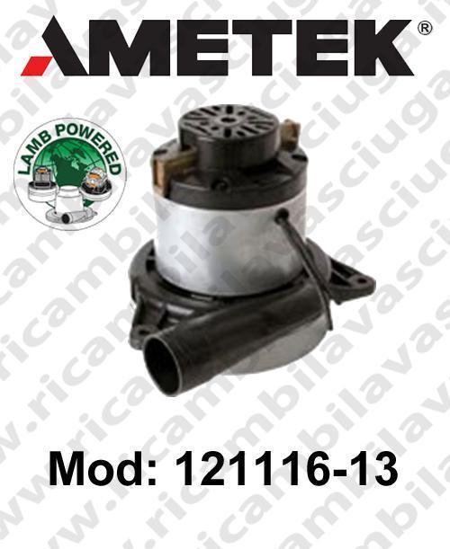 MOTEUR ASPIRATION 121116-13 LAMB AMETEK pour autolaveuses et aspirateur